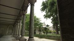 Sultan Mehmed II (Conqueror) Pavilion/ Treasury Department Stock Footage