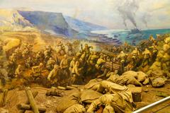 Battle of gallipoli Stock Photos