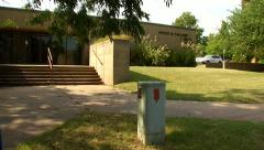 Oklahoma Medical Examiner's Office in OKC Stock Footage