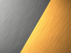 gold - aluminium - metal texture - stock illustration