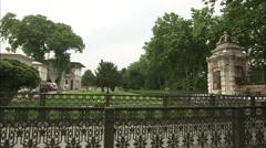 Topkapı Palace Garden Stock Footage