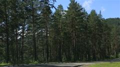 Travel along the roads of Altai Krai. Stock Footage