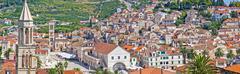 Old island town of hvar Stock Photos