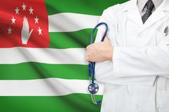 concept of national healthcare system - abkhazia - stock photo