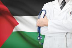 Concept of national healthcare system - palestine Stock Photos