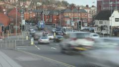 Time Lapse: Traffic at a Junction 4K Stock Footage