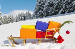 Xmas Christmas winter Stock Photos