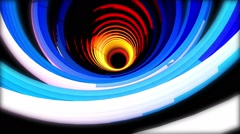 Sky Colors Tunnel - stock footage