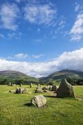 United Kingdom, England, Cumbria, Lake District, Castlerigg stone circle Kuvituskuvat