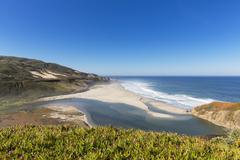USA, California, Big Sur, Pacific Coast, National Scenic Byway, Beach Stock Photos