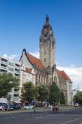 Germany, Berlin, Charlottenburg-Wilmerdorf, Charlottenburg Town Hall Kuvituskuvat