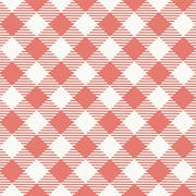 Seamless texture of red plaid Stock Illustration