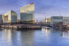 Stock Photo of Germany, Hamburg, Hafencity, High-rise office building Ericusspitze, Publishing