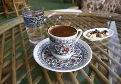 Stock Photo of Cup of Turkish coffee