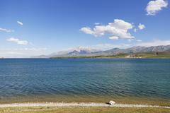 Stock Photo of Turkey, East Anatolia, Lake Van near Goeruendue, mountain Cadir Dagi