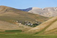 Stock Photo of Turkey, East Anatolia, Van Province, village Boyunpinar