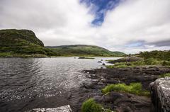 Ireland, Province Munster, County Kerry, Killarney, Upper Lake, Killarney - stock photo