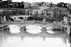 Tiber river. rome Stock Photos