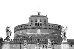 castel sant'angelo - stock photo