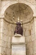 Statue of minerva. campidoglio, rome, italy. Stock Photos