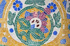 Mosaic. modernist art (also called art deco) Stock Photos
