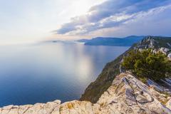 France, Provence-Alpes-Cote d'Azur, Provence, Mediterranean coast, near La - stock photo