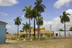 Stock Photo of principal square of triinidad. cuba.