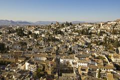 The city of granada Stock Photos