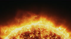 Solar surface in 4k Stock Footage