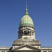 the national congress in buenos aires - stock photo