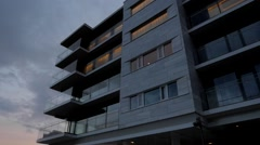 Modern apartments Stock Footage