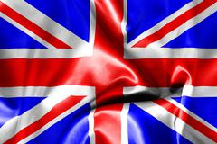 Great britain flag Stock Illustration