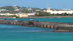 Bermuda Causeway - stock footage