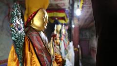 Buddha Coming Into Focus.mp4 Stock Footage