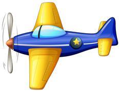 A vintage turbojet - stock illustration