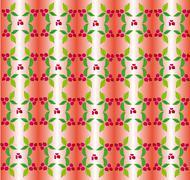 Berry ornament Stock Illustration