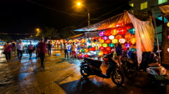 4k - Hoi An Lantern city - Vietnam Time Lapse Stock Footage