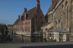 Sint-janshospitaal bruges Stock Photos