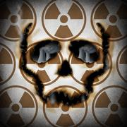 radiation concept - stock illustration