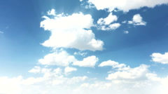 Time lapse Cloud background 5 720p Stock Footage