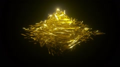 Golden Connections 002 1080p Stock Footage