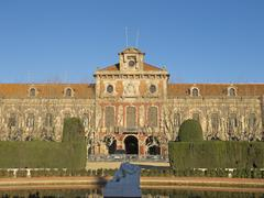 Barcelona - parliament of autonomous catalonia. Stock Photos