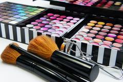 Professional makeup Stock Photos