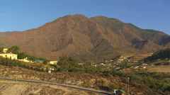 Sierra Bermeja... the Red Mountain Stock Footage