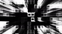Black and white shimmering background Stock Footage
