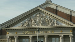 Concertgebouw Amsterdam name and detail Arkistovideo