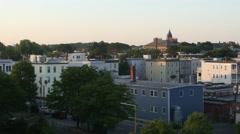 4K South Boston Sunrise Stock Footage