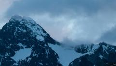 Early morning time lapse at the Grossglockner Stock Footage