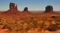 Monument Valley Day 34 Tilt Up Utah Arizona USA Footage