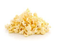 Pop corn isolated on white background Kuvituskuvat